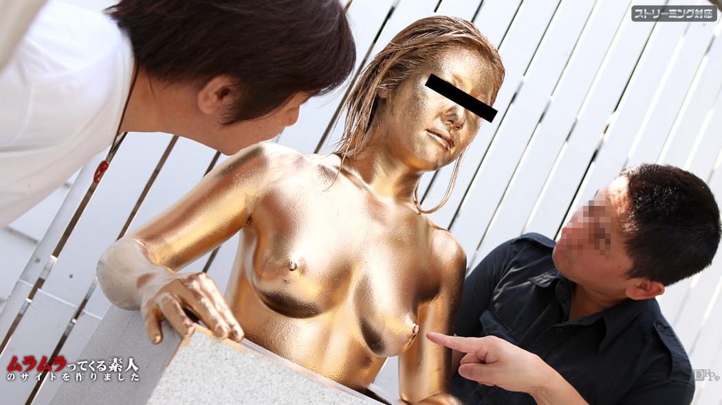 イタズラされても我慢して!銅像になりきったら豪華賞品プレゼント! 前編