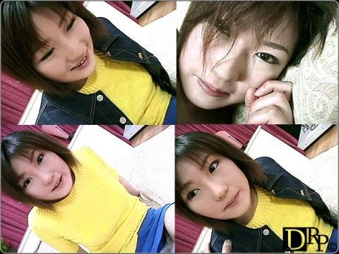 黄色いセーターのエロエロ娘
